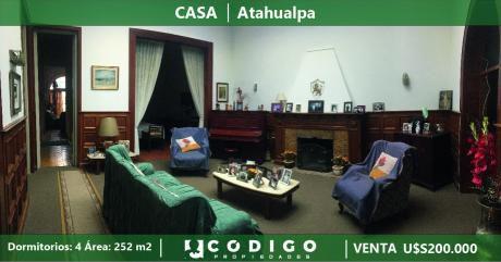 Casa A La Venta Millán Próximo Bulevar Artigas, Atahualpa
