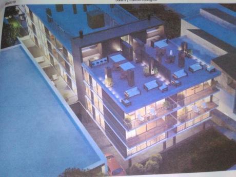 Apartamento 1 Dormitorio Malvin En Construccion