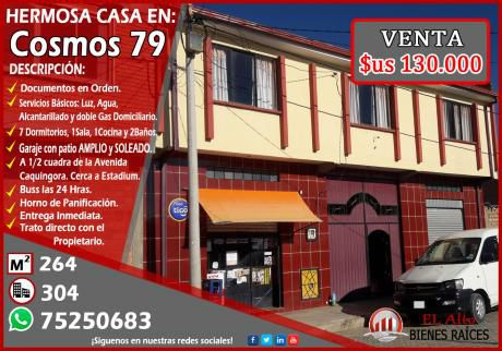 """Por Ocasión Vendo Linda Casa De 264 M2 Detras De Villa Adela - Uv.""""h"""""""