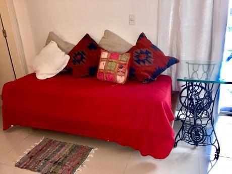 Nuevo Monoambiente Renta Con Muebles Parillero Puerto Buceo Rambla