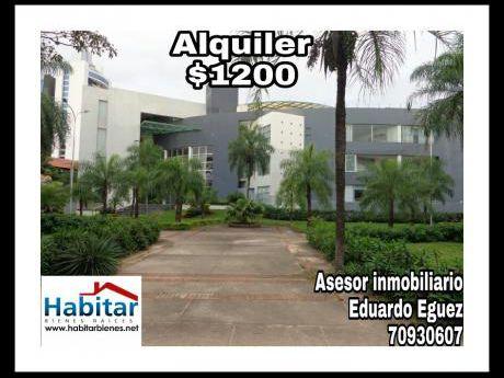 Departamento Amoblado En Equipetrol Aguai