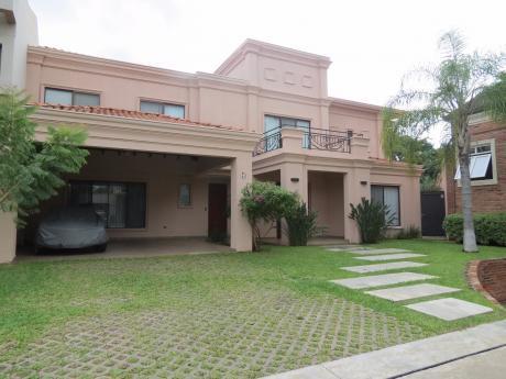 Alquilo Residencia De Primer Nivel En Exclusivo Condominio Cerrado