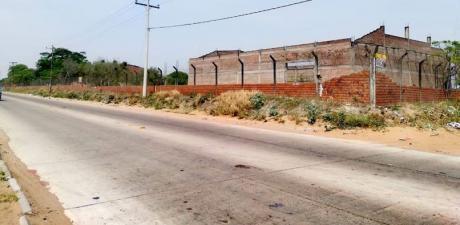Terreno Mas GalpÓn En Zona Franca Y Sobre Avenida Principal A La Venta