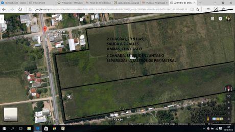 Chacra 5 Has A Mts Perimetral Sobre Mendoza Y Salida A O.rodriguez