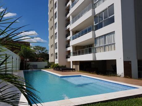Alquilo Departamento Amoblado 3 Suites En Villamorra