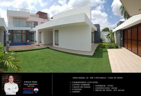 Casa Con Varios Ambientes - Radial 26 - 4to Anillo