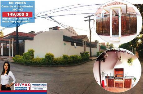 En Venta Casa De 4 Dormitorios, Barrio Polanco