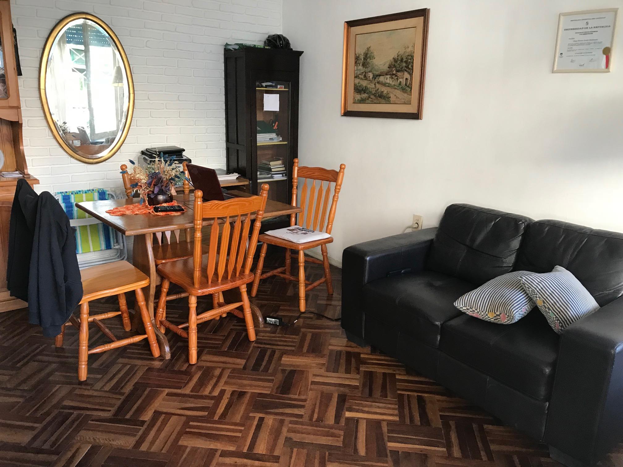 Apto En Punta Carretas Con Muebles