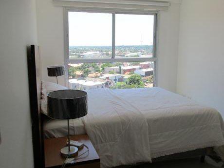 Departamento 2 Dormitorios + Area De Servicio Amoblado Santa Teresa