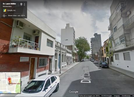 Casa En Venta Con Renta, Parque Rodó Casi Mar.