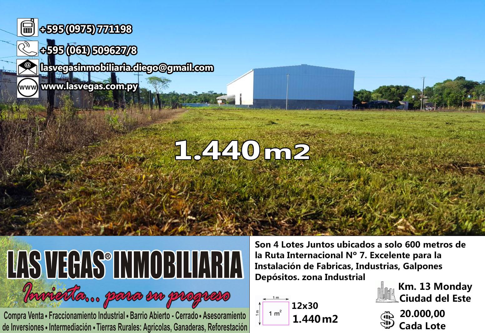 Terrenos Para Emprendimientos - Km 13 Acaray Cde