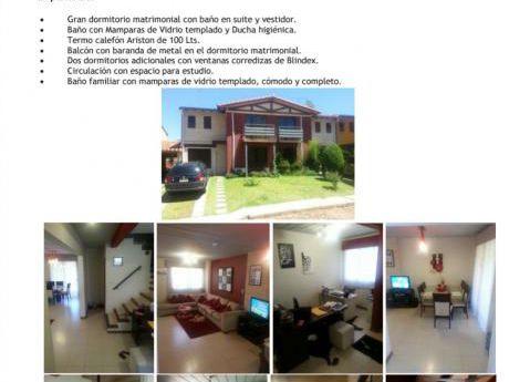 Vendo Duplex De 3 Dormitorios En Villa Elisa Zona Real Acceso Sur En Condominio