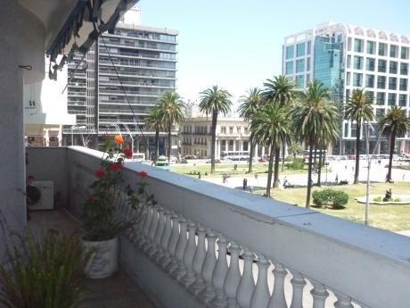 Amplia Y Cómoda Oficina/ Apto De 120 M2  Sobre Plaza Independencia