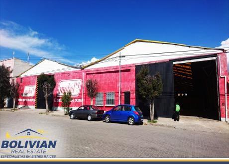 En Venta Galpones Y Oficinas En Satelite - El Alto