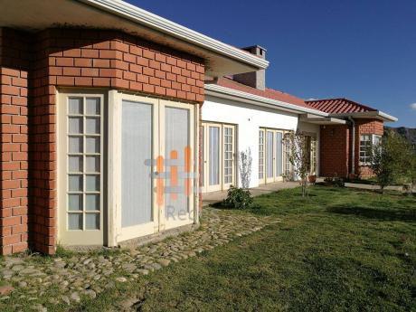 Casa En Venta: Las Lomas De Achumani