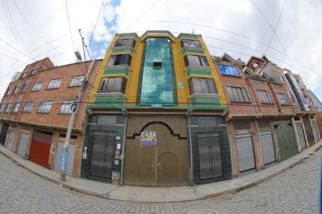 En El Alto: Casa + Terreno Para Inversión/negocio/fábrica Y Vivienda