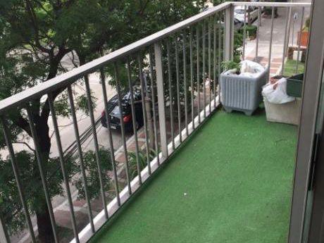 Apartamento De 2 Dorm + Servicio, Tza, Losa, Estar, Garaje