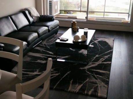 Alquiler Apartamento Con Muebles,pocitos, Sobre Mar, Dos Dorm, Dos Baños, Garage