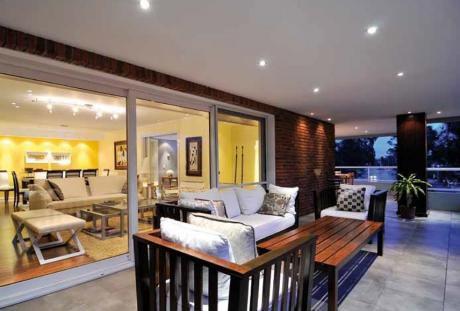 Venta Apartamento Parque Miramar 3 Dormitorios Y Servicio Vista Al Lago