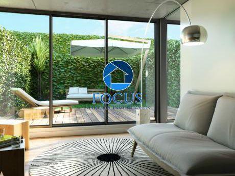 Apartamento 1 Dormitorio Con Terraza Y Jardín - Estrene Feb/2018