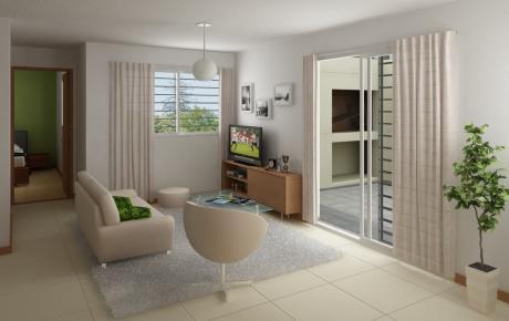 Apartamento 1 Dormitorio, Terraza, Parrillero, Parque Rodó