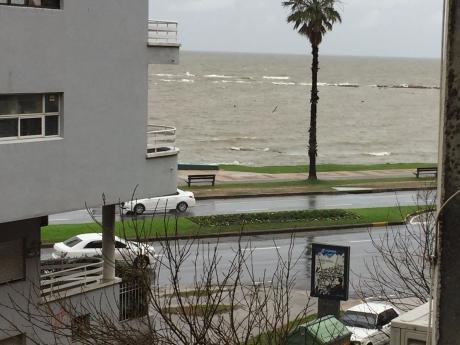 Excelente Ubicacion, Terraza C/vista Al Mar De Pta.carretas