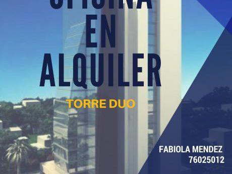 Oficina En Alquiler Torre Duo