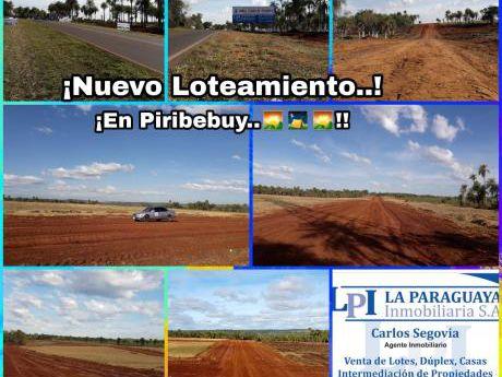Nuevo Loteamiento En Piribebuy