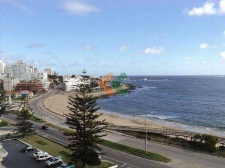 Acogedor Apartamento Sobre La Rambla Con Espectacular Vista Al Mar.  - Ref: 1725