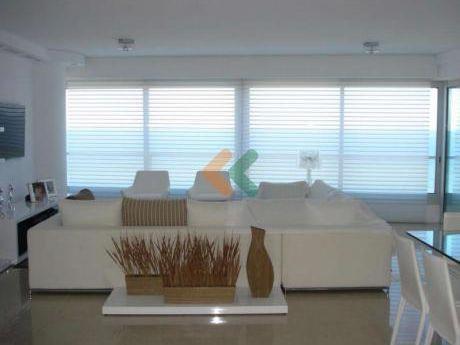 ¡espectacular Y Lujoso Apartamento En Primera Linea Frente A La Brava Con Increible Vista Al Mar!