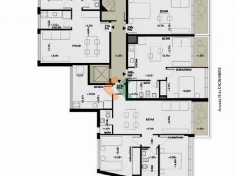 Excelente Apartamento De 1 Dormitorio En Malvin