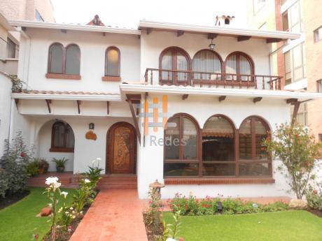 Casa En Alquiler: Achumani C.22