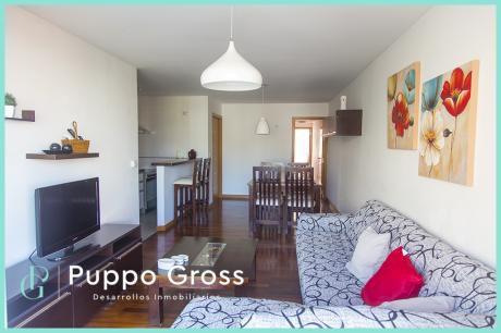 Bajo De Precio, Amoblado 1 Dormitorio Muy Amplio.