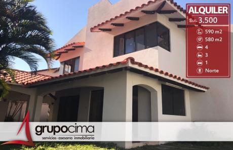 Zona Equipetrol Norte Lujosa Casa 3.500 $us