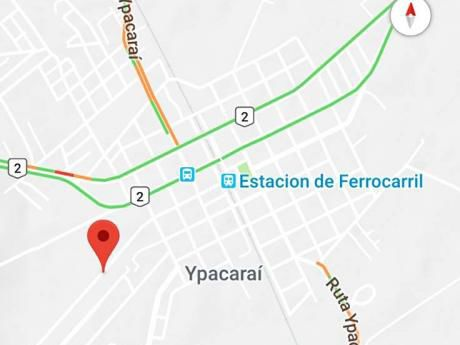 Terreno Sobre Asfalto 3.706m2 Ypacarai