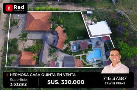 Casa Quinta En El Urubo