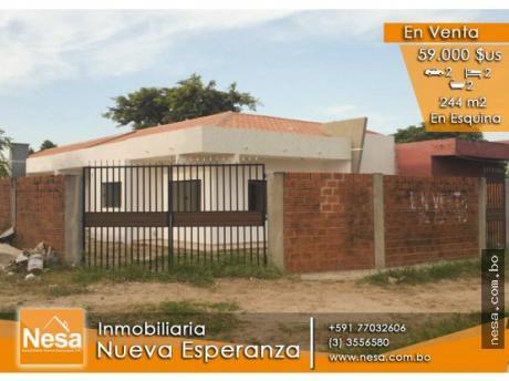 Casa En Venta A Estrenar En Esquina - Km 12