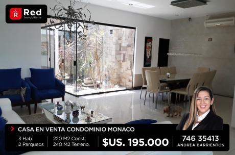 Hermosa Casa En Cond Monaco