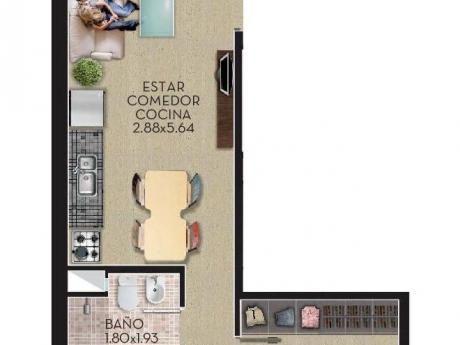 Penthouse A Estrenar. C/terraza 12m2 - Prox.facuderecho
