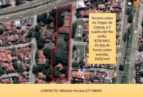 Terreno Urbano Para Inversion