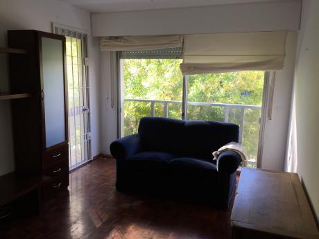 Alquiler Apto 1 Dormitorio Pocitos Con Terraza