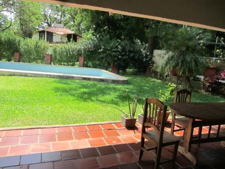 Alquilo Casa De 4 Dormitorios Con Piscina En San Bernardino