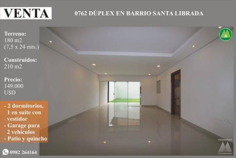 0762 DÚplex A Estrenar, Barrio Santa Librada