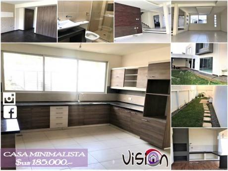 Venta de casas y condominio en cochabamba for Casa minimalista uy