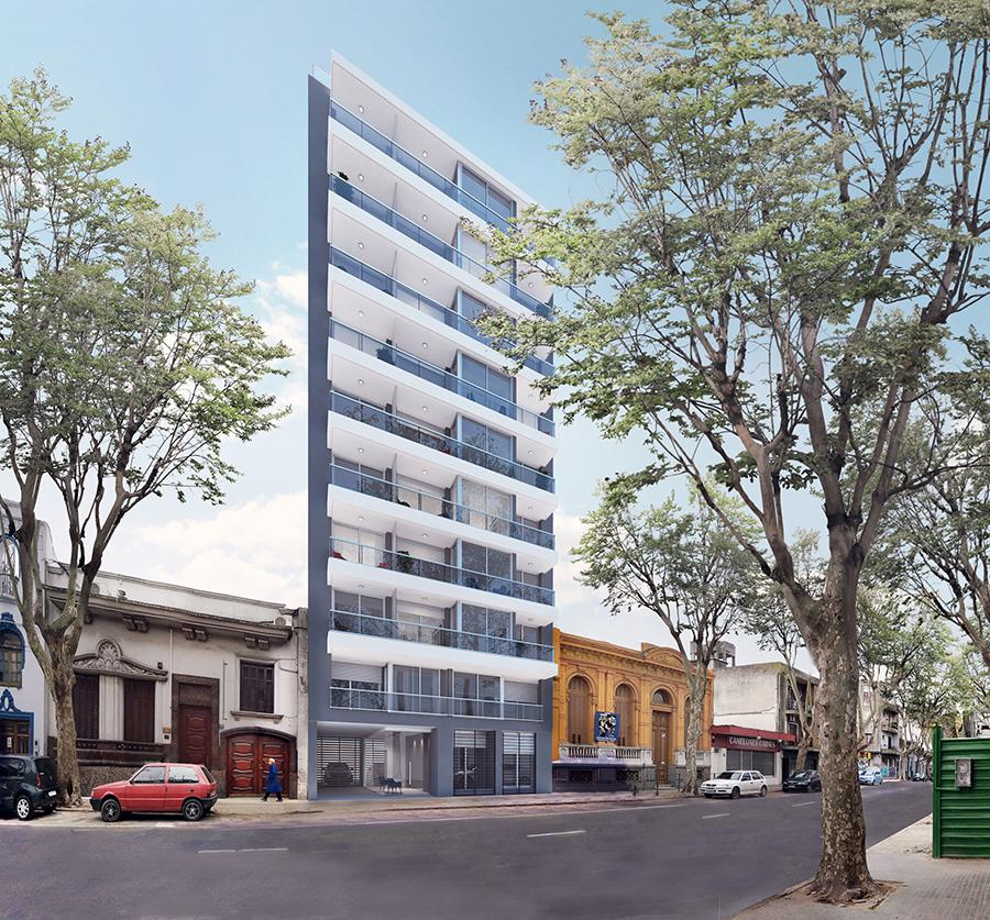 Alquiler - 2 Dormitorios - Garage - Nuevo - Lift Cordon