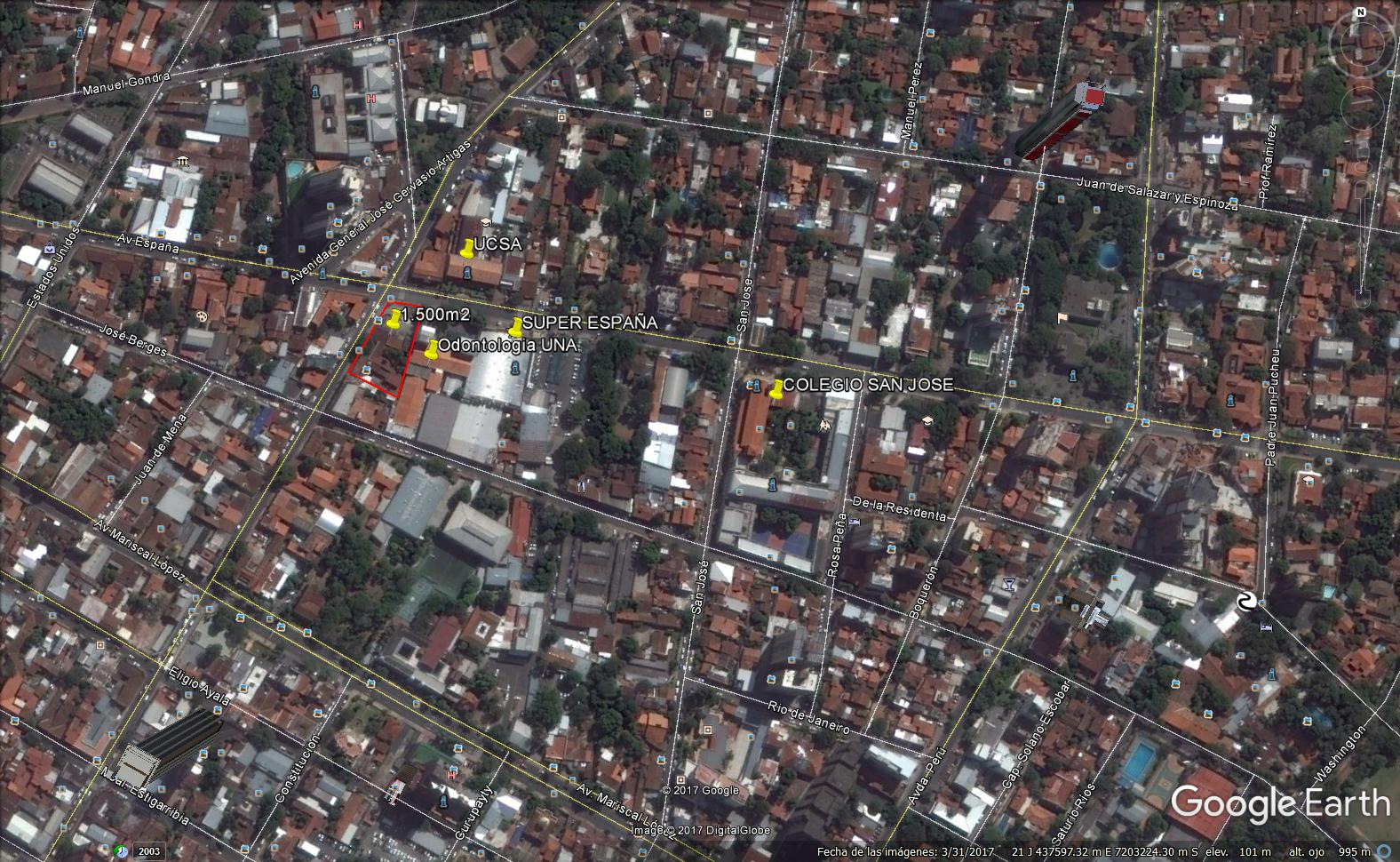 Vendo 1.500m2 En Pleno Centro De Asunción Nuevo Precio