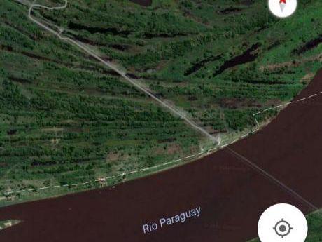 Propiedad Sobre El Río Paraguay En Villeta