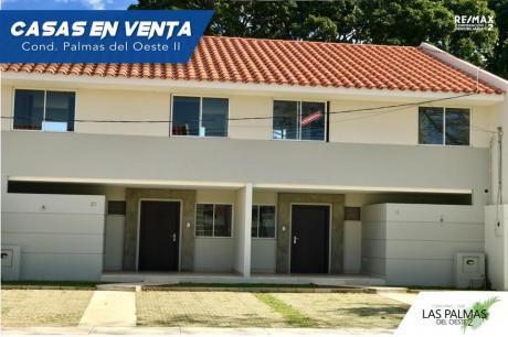 Invertí En Tu Nuevo Hogar!  Cond. Club Palmas Del Oeste II