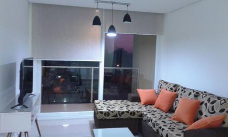 Departamento De 2 Dormitorios, A Estrenar, Amoblado Y Equipado