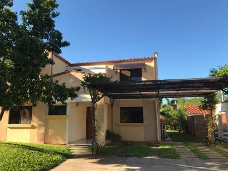 Alquilo Casa En Condominio Zona Luque